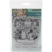 "Penny Black® Warm Wishes Cling Stamp, 3.7"" x 4.7"""
