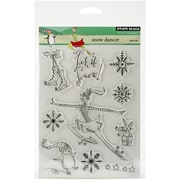 "Penny Black® Snow Dancer Stamp, Clear, 5"" x 6 1/2"""