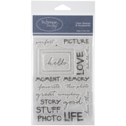 "Technique Tuesday® Perfect Picture Stamp, Clear, 4"" x 6"""
