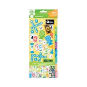"American Crafts™ Family Fun Large Sticker Book, 11"" x 4 1/2"""