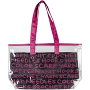 "Lion Brand® 2-In-1 Yarn Tote, Pink, 11"" x 19"" x 5"""
