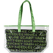 "Lion Brand® 2-In-1 Yarn Tote, Green, 11"" x 19"" x 5"""