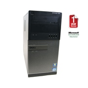 Refurbished Dell 790 T CORE I5 3.1GHz, 8GB RAM, 500GB Hard Drive, DVDRW Drive, Win 7 Pro 64BIT