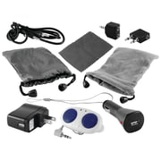 Ematic 10 Piece Universal Accessory Kit With Speaker For iPod/MP3 Player