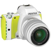 Pentax K-S1 20MP DSLR Digital Camera, Lime Pie