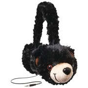 Retrak™ Animalz Retractable Over-The-Head Volume Limiting Children's Stereo Headphone, Bear