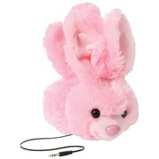 Retrak™ Animalz Retractable Over-The-Head Volume Limiting Children's Stereo Headphone, Bunny