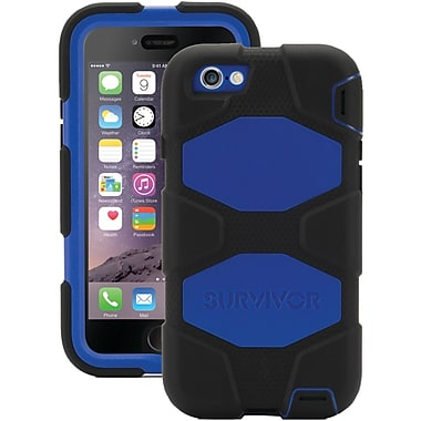 Griffin Survivor iPhone 6 Case, Black and Blue