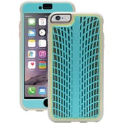 Griffin Identity™ PerFormance Case For 5.5 iPhone 6 Plus, Traction Turquoise/Gray/Light Gray