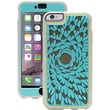 "Griffin Identity™ PerFormance Case For 5.5"" iPhone 6 Plus, Flower Turquoise/Gray/Light Gray"