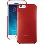 Macally Snap-On Case For 4.7 iPhone 6, Metallic Red