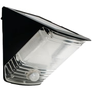 Maxsa® Solar Powered Motion Activated Wedge Light, Black
