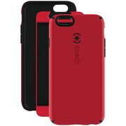 "Speck® CandyShell® + Faceplate™ Case For 4.7"" iPhone 6, Pomodoro Red/Black"