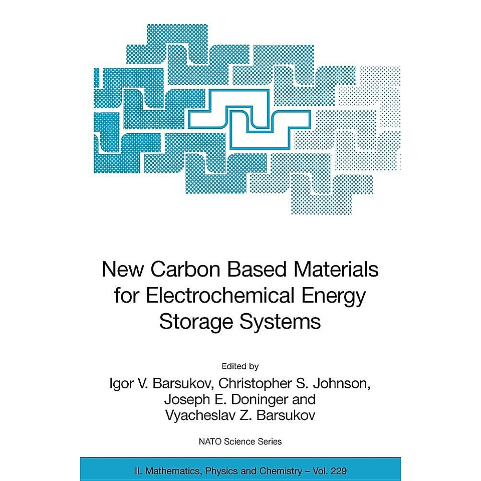 New Carbon Based Materials for Electrochemical Energy
