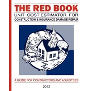 The Red Book Unit Cost Estimator For Construction & Insurance Damage Repair (Volume 24)
