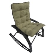 International Caravan Wembley Rocking Chair with Cushion; Sage