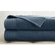 Colonial Textiles Spring Bloom Quick Dry 3 Piece Towel Set; Denim