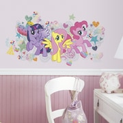 Room Mates Popular Characters 6 Piece My Little Pony Wall Decal