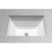 Toto Promenade Undercounter Bathroom Sink; Colonial White