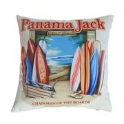 Panama Jack Chairman of the Board Indoor/Outdoor Throw Pillow (Set of 2)