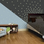 Room Mates 180 Piece Glow in The Dark Dots Wall Decal