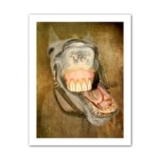 ArtWall Laughing Horse' by Antonio Raggio Photographic Print on Rolled Canvas; 52'' H x 40'' W