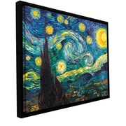 ArtWall Starry Night Canvas Art by Vincent Van Gogh; 36'' H x 48'' W x 2'' D
