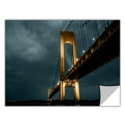 ArtWall ArtApeelz 'Bridge' by Revolver Ocelot Photographic Print Removable Wall Decal