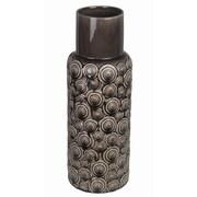 Privilege Ceramic Circles Vase; Small