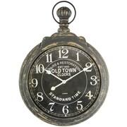 Yosemite Home Decor 35.5'' Oversized Wall Clock; Black