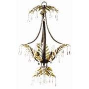Yosemite Home Decor New Plantation 3 Light Mini Chandelier