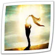 ArtWall 'Body Light' by Elena Ray Photographic Print on Canvas Poster; 36'' H x 36'' W