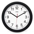 Infinity Instruments 12.5'' Intrinsic Wall Clock; Matt Black
