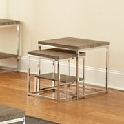 Brady Furniture Industries Woodward 2 Piece Nesting Tables