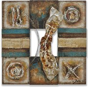 Yosemite Home Decor Revealed Art Lustrious Metal I Original Painting on Wrapped Canvas