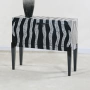 Ultimate Accents Contempo Zebra Hall Console Table