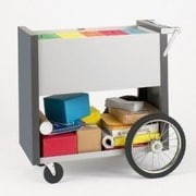 Charnstrom Medium File Cart with Rear Wheels