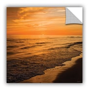 ArtWall Serene Sunset by Antonio Raggio Art Appeelz Removable Wall Mural; 18'' H x 18'' W x 0.1'' D