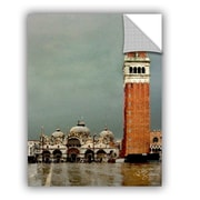 ArtWall Venice Piazza by George Zucconi Art Appeelz Removable Wall Mural; 32'' H x 24'' W x 0.1'' D