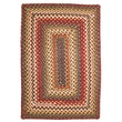Homespice Decor Sunrose Red Indoor/Outdoor Rug; 1'8'' x 2'6''