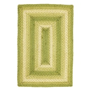 Homespice Decor Melbourne Green Apple Area Rug; 4' x 6'