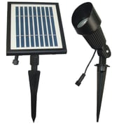 Goes Green Network LED Solar 12 Light Spot Light; Warm White LED