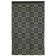 Homespice Decor Thistle Black/Light Grey Indoor/Outdoor Area Rug; 4' x 6'