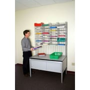 Charnstrom 32 Pockets Raised Mail System with Legal Depth