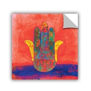 ArtWall Hand of Fatima by Elena Ray Art Appeelz Removable Wall Mural; 18'' H x 18'' W x 0.1'' D