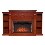 Wildon Home   Langley Bookcase Electric Fireplace