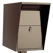 Charnstrom Steel Drop Wall Mount Mailbox