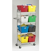 Charnstrom Medium 4 Shelf Mobile Utility Cart