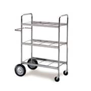 Charnstrom Medium Triple-Decker File Cart