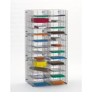 Charnstrom 24 Compartment Organizer; 48.38'' H x 24'' W x 15'' D